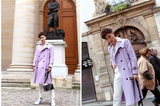 华星酷娱陈采尼受邀出席巴黎时装周 有型有款打卡浪漫之都