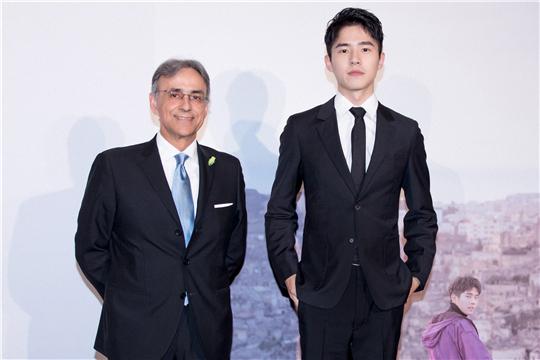 刘昊然担当意大利官方旅游大使,形象阳光国际获认可