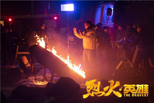 """《烈火·英雄》8月1日上映   导演陈国辉创作全新类型致敬""""当代最可爱的人"""""""